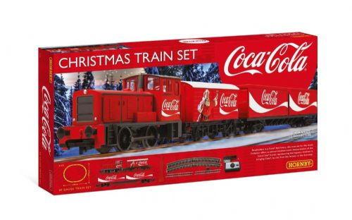 Hornby Coca Cola Christmas Train Set R1233